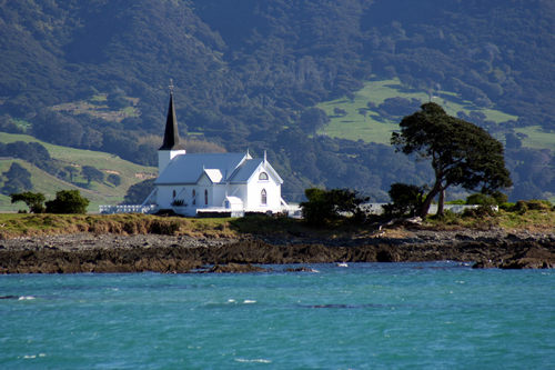 Church, East Cape Pacific Highway, NZ.